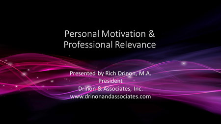 Personal-Motivation-&-Professoinal-Relevance